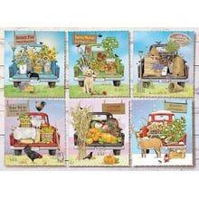 Пазл Cobble Hill, 1000 элементов - Mary Lake-Thompson: Грузовики для фермерского рынка