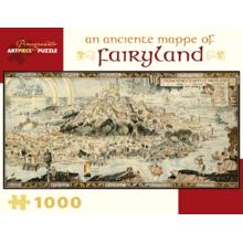Пазл Pomegranate, 1000 элементов - Бернард Сани: Древняя карта сказочной страны