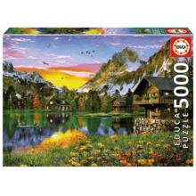 Пазл Educa, 5000 элементов - Альпийское озеро