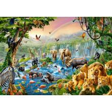 Пазл Castorland, 500 элементов - Река в джунглях