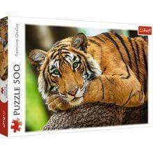 Пазл Trefl, 500 элементов - Тигр