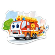 Пазл Castorland, 12 элементов - Пожарная машина