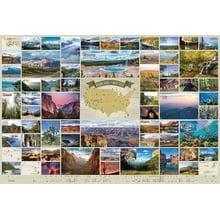Пазл Cobble Hill, 2000 элементов - Национальные парки