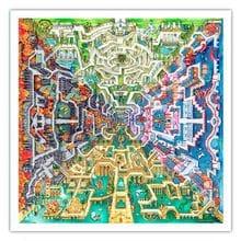 Пазл Pintoo, 1600 элементов - Т.Паркер: Мифологический лабиринт