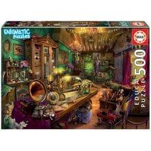 Пазл Educa, 500 элементов - Загадочный пазл - Антикварный магазин