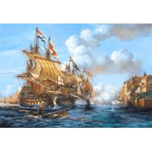 Пазл Castorland, 2000 элементов - Битва в Порто Белло