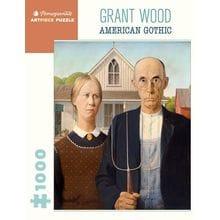 Пазл Pomegranate, 1000 элементов - Грант Вуд: Американская готика