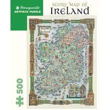 Пазл Pomegranate, 500 элементов - Историческая карта Ирландии