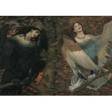Пазл Stella, 2000 элементов - Сирин и Алконост. Песнь радости и печали.