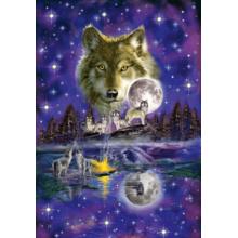 Пазл Schmidt, 1000 элементов - Волк в полнолуние