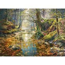 Пазл Castorland, 2000 элементов - Осенний лес