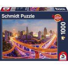 Пазл Schmidt, 1000 элементов - Огни большого города