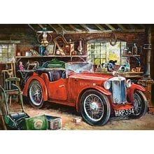 Пазл Castorland, 1000 элементов - Старинный гараж