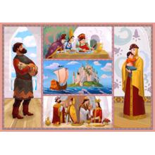 Пазл Castorland, 500 элементов - Сказка о царе Салтане