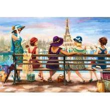 Пазл Castorland, 1000 элементов - Парижская жизнь