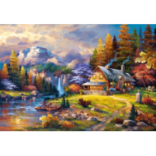 Пазл Castorland, 1500 элементов - Домик в горах