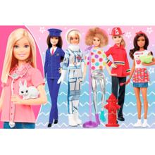 Пазл Trefl, 100 элементов - Профессии, Барби