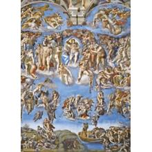 Пазл Clementoni, 1000 элементов - Микеланджело: Судный день