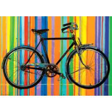 Пазл Heye, 1000 элементов - Велосипед, Deluxe, Bike Art