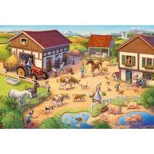 Пазл Schmidt, 40 элементов - Фермерский двор