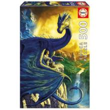 Пазл Educa, 500 элементов - Эрагон и Сапфир