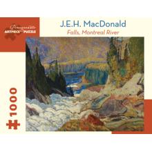 Пазл Pomegranate, 1000 элементов - Макдональд: Водопад, река Монреаль