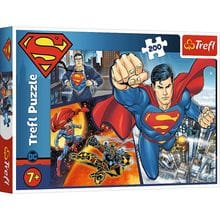 Пазл Trefl, 4 в 1 (35+48+54+70) элементов - Супермен