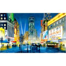 Пазл Pintoo, 1000 элементов - Шотвел: Ночной Нью-Йорк