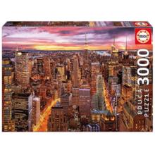 Пазл Educa, 3000 элементов - Манхэттен