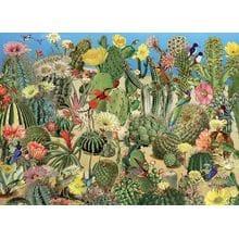 Пазл Cobble Hill, 1000 элементов - Сад кактусов