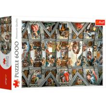 Пазл Trefl, 6000 элементов - Сикстинская капелла