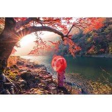 Пазл Educa, 1000 элементов - Восход солнца на реке Кацура, Япония