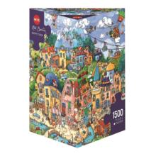 Пазл Heye, 1500 элементов - Счастливый город