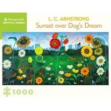 Пазл Pomegranate, 1000 элементов - Л.С. Армстронг: Закат над собачьей мечтой