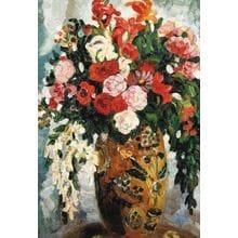 Пазл Stella, 1500 элементов - Судейкин С.Ю.: Цветы в глиняной вазе