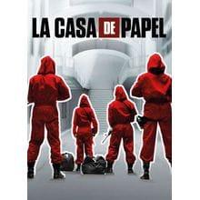 Пазл Clementoni, 1000 элементов - La Casa - 2. NETFLIX