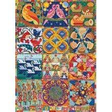 Пазл Cobble Hill, 1000 элементов - Одеяло - 12 дней рождества