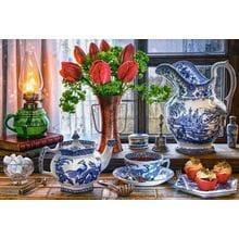 Пазл Castorland, 1500 элементов - Натюрморт с тюльпанами