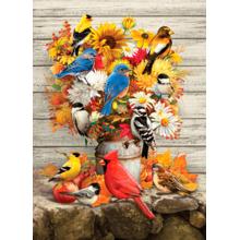 Пазл Cobble Hill, 500 элементов - Букет для птиц