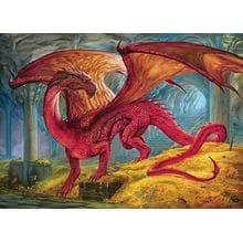 Пазл Cobble Hill, 1000 элементов - Ciruelo: Сокровище красного дракона