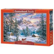 Пазл Castorland, 1000 элементов - Зимой в горах