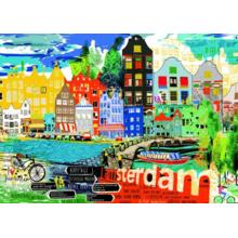 Пазл Heye, 1000 элементов - McCall: Я люблю Амстердам