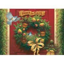 Пазл Cobble Hill, 1000 элементов - Рождественский венок