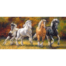 Пазл Castorland, 4000 элементов - Лошади