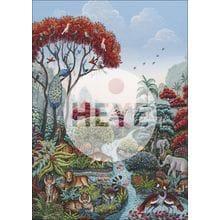 Пазл Heye, 2000 элементов - Райский мир
