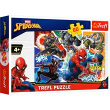 Пазл Trefl, 60 элементов - Храбрый Человек-паук