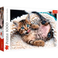 Пазл Trefl, 1000 элементов - Веселый котенок
