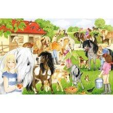 Пазл Schmidt, 60 элементов - Веселье на конюшне
