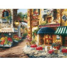 Пазл Clementoni, 3000 элементов - Завтрак в кафе