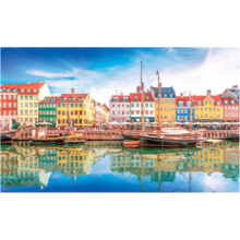 Пазл Pintoo, 1000 элементов - Старый порт Копенгагена